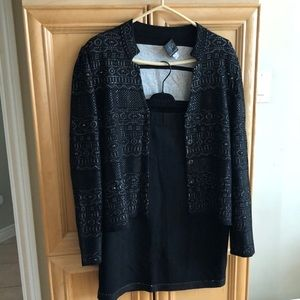 Mary Kay knit suit